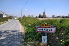Entrée du bourg de Guéhébert