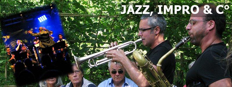 Zarbalib(r), logo rubrique Jazz, Impro & C°