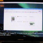 Raspberry Pi 3 B+ Raspbian sur TV