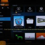 Raspberry Pi 3 B+, LibreElec sur TV, écran avec Catch-up TV & More