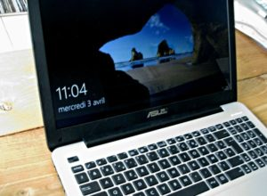 PC Portable Asus avec Windows 10