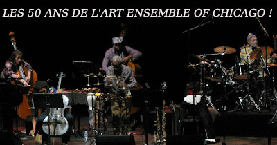 L'Art Ensemble of Chicago fêtait ses 50 ans d'existence à Nantes le 6 octobre 2019.