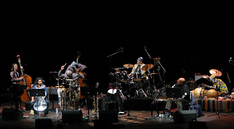 L'Art Ensemble Of Chicago célébrait ses 50 ans à Nantes le 6 octobre avec des invités.