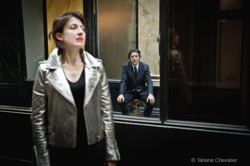 Claudia Solal (voix) et Benoît Delbecq (piano) en duo pour un nouveau disque sur le label RogueArt (2019).