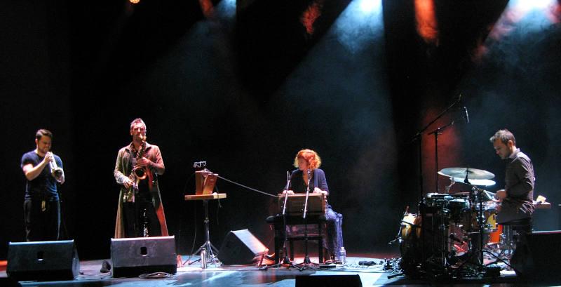 Le quartet Troubadours de sylvain Rifflet en concert à Caen le 10 décembre 2019.