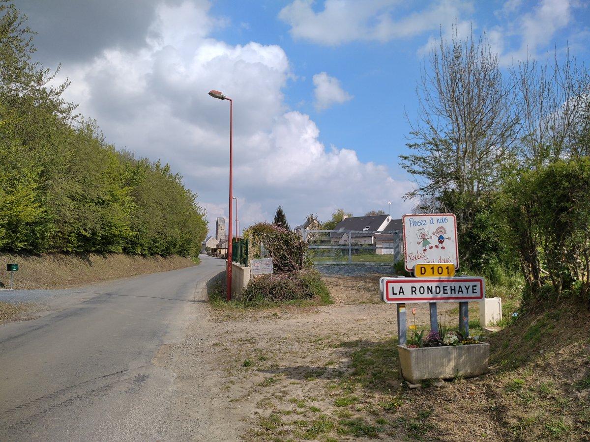 Arrivée à La Rondehaye...