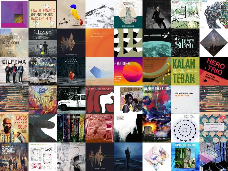 Mosaique des pochettes des disques du catalogue de mai 2020 - Zarbalib.fr