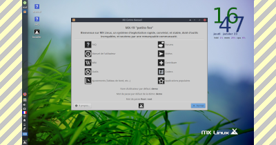 Installer MX Linux 19.1