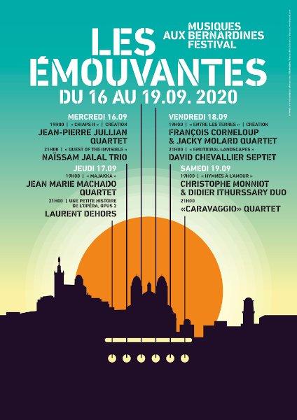 Festival Le Emouvantes 2020 - 16 au 19 septembre à Marseille