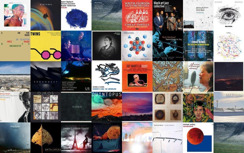 Disques Jazz et musiques improvisées - catalogue Zarbalib.fr - septembre 2020