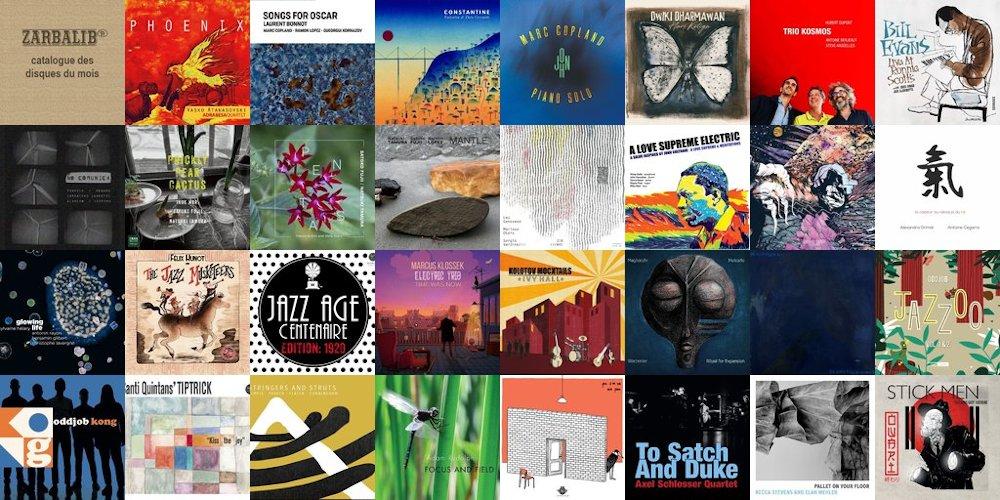 31 disques de décembre 2020 - catalogue Zarbalib.fr