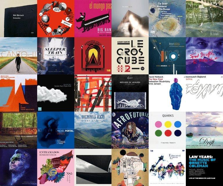 30 disques jazz, musiques improvisées, catalogue Zarbalib mars 2021.