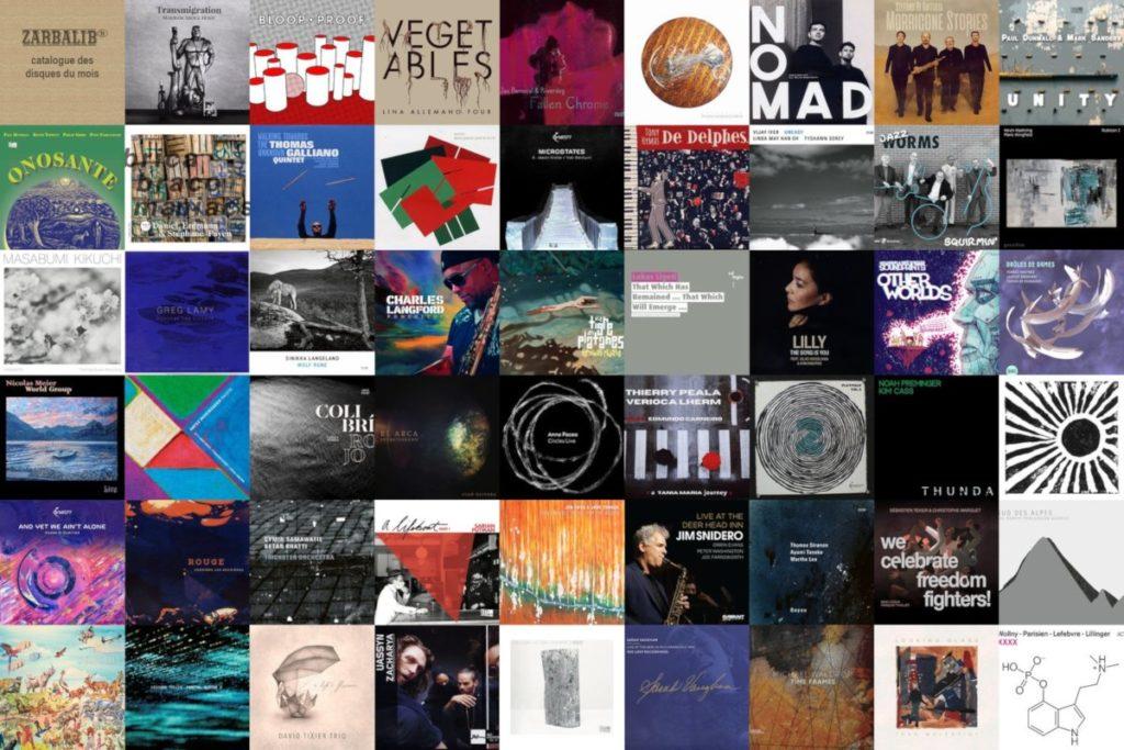 Disques Jazz et musiques improvisées au catalogue de Zarbalib'r - avril 2021