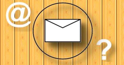 Choisir une bonne adresse courriel.