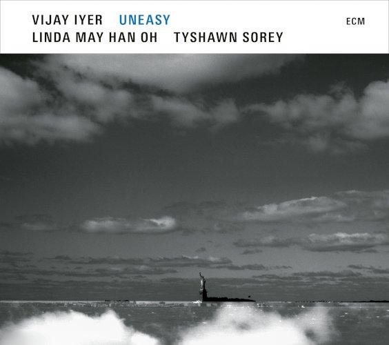 Vijay Iyer trio, Uneasy - ECM records 2021 - jazz, musique improvisée, composition